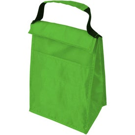 Lunch Tote and Bottle Combination Pack Printed with Your Logo