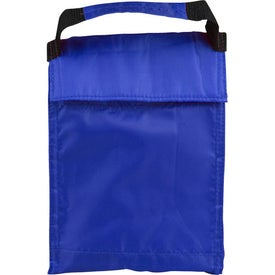 Printed Lunch Tote and Bottle Combination Pack