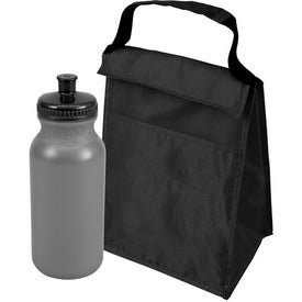 Personalized Lunch Tote and Bottle Combo Pack
