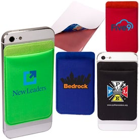 Lycra Mobile Device Pocket Branded with Your Logo