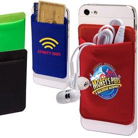 Lycra Mobile Device Pocket for Promotion