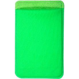 Advertising Lycra Mobile Device Pocket