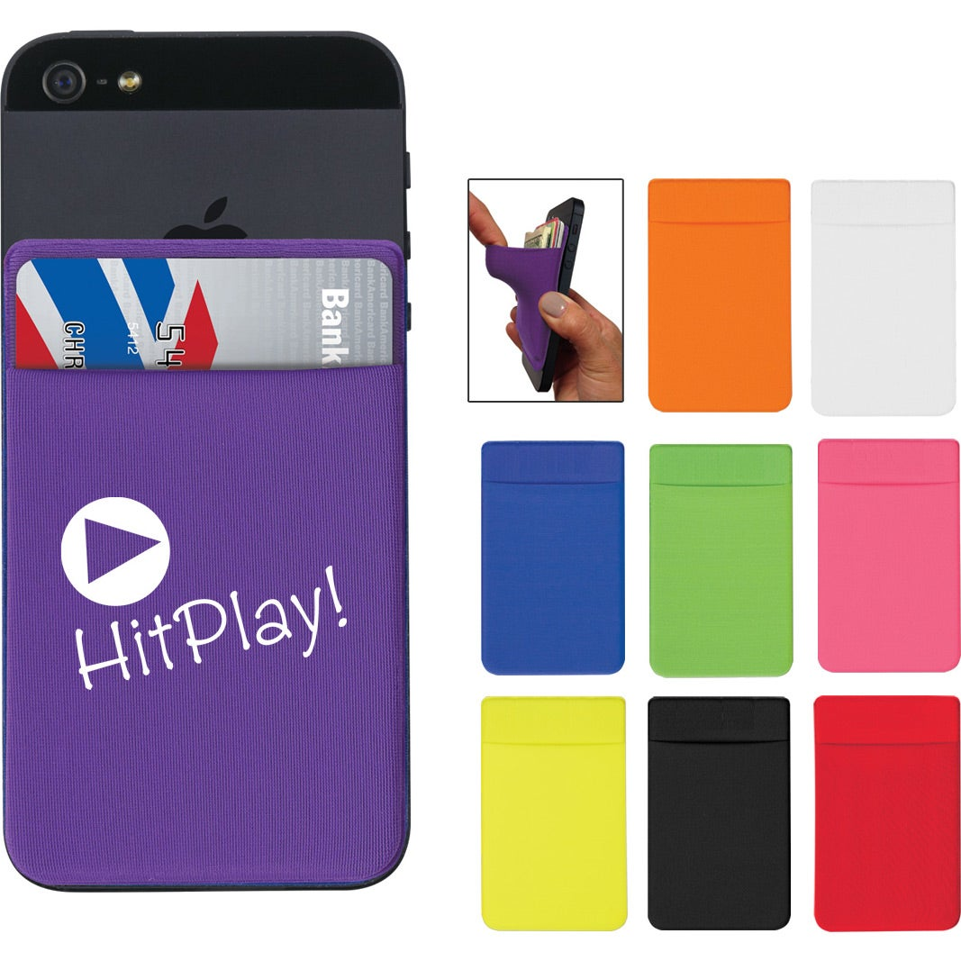 Lycra Card Sleeve For Mobile Devices