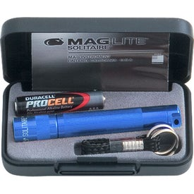 Mag-Lite Solitaire Flashlight with Your Slogan