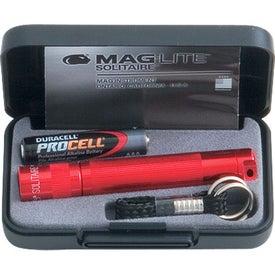 Advertising Mag-Lite Solitaire Flashlight
