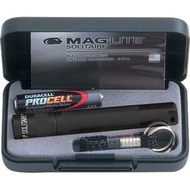 Mag-Lite Solitaire Flashlight Imprinted with Your Logo