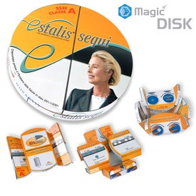 Magic Disk with Your Logo