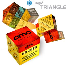Magic Triangle Printed with Your Logo