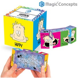 Magic Mood Dude Krazy Cube with Your Logo