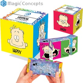 Monogrammed Magic Mood Dude Krazy Cube