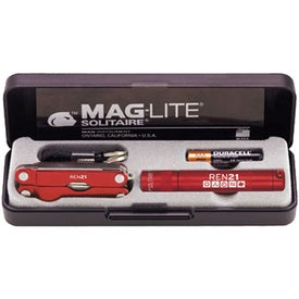 K3A Mag-Lite Solitaire & Multi-Function Tool Combo for Marketing