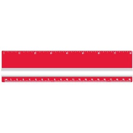 "Logo 8"" Magnifying Ruler"