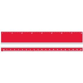 """Logo 8"""" Magnifying Ruler"""