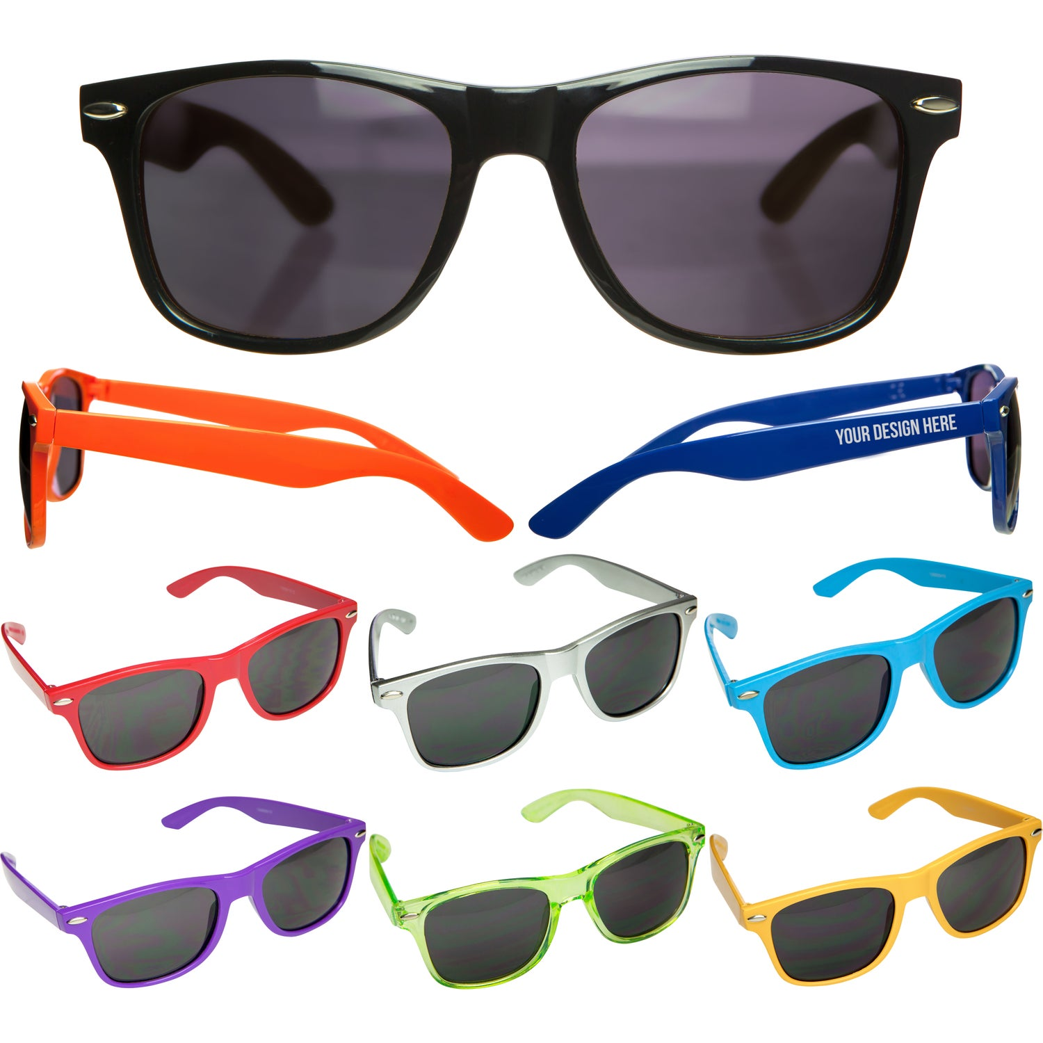9bc769803330f CLICK HERE to Order Malibu Sunglasses Printed with Your Logo for  1.55 Ea.