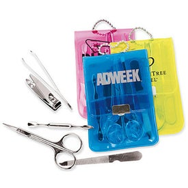 Manicure Kit in Translucent Case