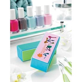 Monogrammed Manicurist Nail Block