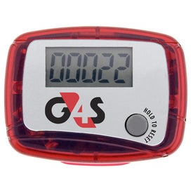 Custom Marathon Pedometer Imprinted with Your Logo