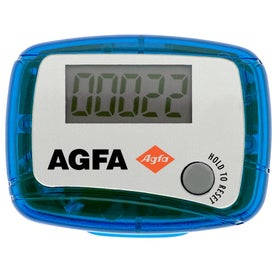 Custom Marathon Pedometer Printed with Your Logo