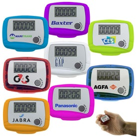 Advertising Custom Marathon Pedometer
