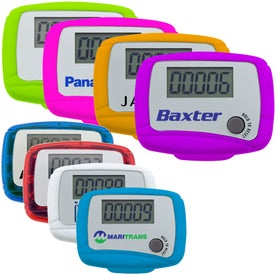 Personalized Custom Marathon Pedometer