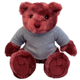 Plush Bear Knuckles (Maroon)