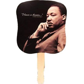 Dr. Martin Luther King, Jr. Hand Fan for your School
