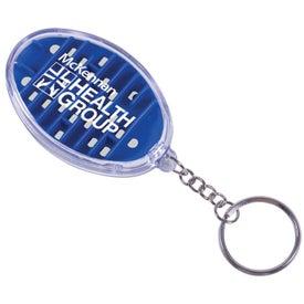Branded Maze Key Chain