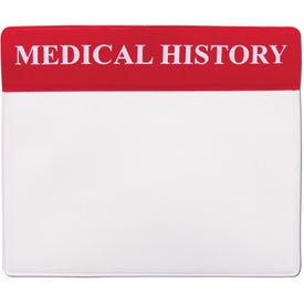 Vinyl Medical History Organizer for your School