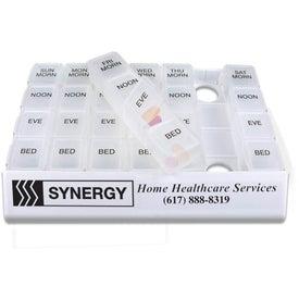 Medicine Tray Organizer (24/7)