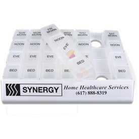 Branded Medicine Tray Organizer