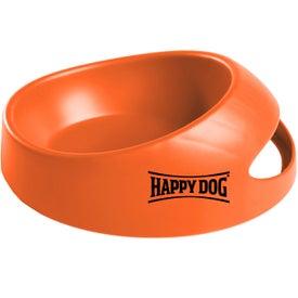 Monogrammed Medium Scoop-it Bowl