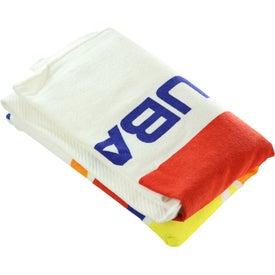 Imprinted Medium Weight Beach Towel