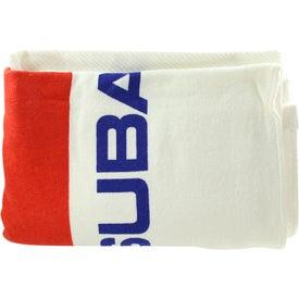 Logo Medium Weight Beach Towel