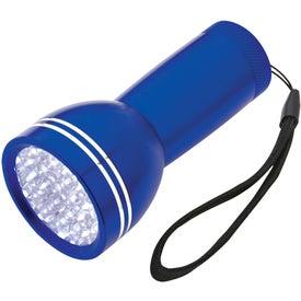 Mega Bright Aluminum LED Light With Strap for Promotion