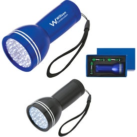 Mega Bright Aluminum LED Light With Strap for Your Organization