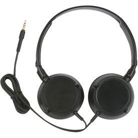 Mega Headphones with Your Slogan