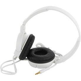 Monogrammed Mega Headphones