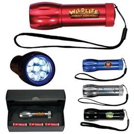 Mega Might LED Metal Flashlight
