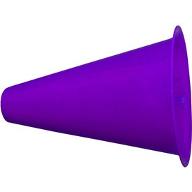 Megaphone with Imprinted Cap for Marketing