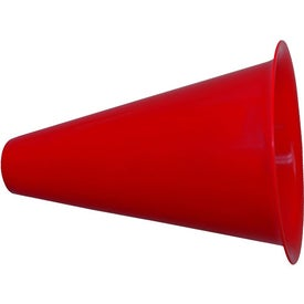Megaphone with Popcorn Cap Branded with Your Logo