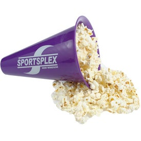 Megaphone with Popcorn Caps