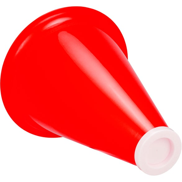 Yellow Megaphone with Popcorn Insert