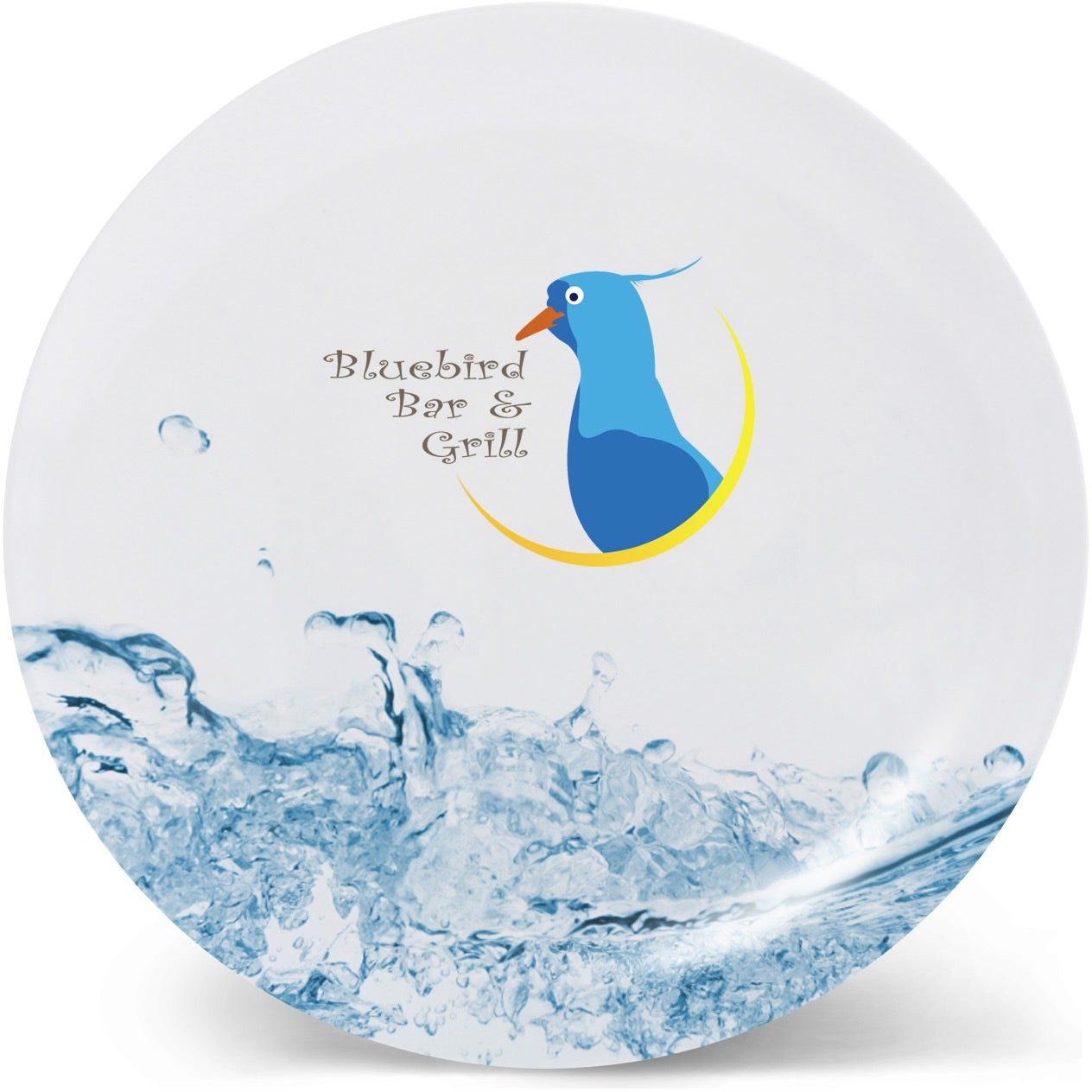White Melamine Plate (8  sc 1 st  Quality Logo Products & Promotional 8