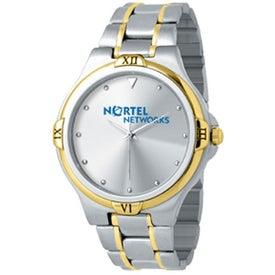 Customized Men's 2-Tone Designer Watch