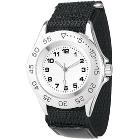 Promotional Men's All-Sport Canvas Band Watch