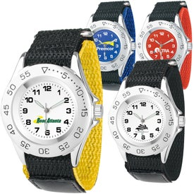Men's All-Sport Canvas Band Watch Giveaways