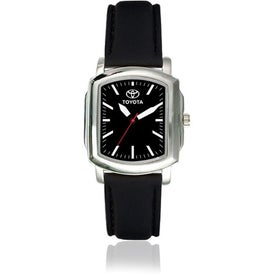 Advertising Classic Watch with Cowhide Band