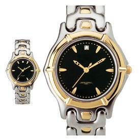 Men's Watch Two Tone Bracelet Style with Your Logo