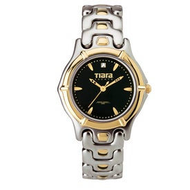 Men's Watch Two Tone Bracelet Style