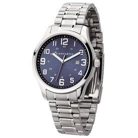 Folded Steel Men's Watch